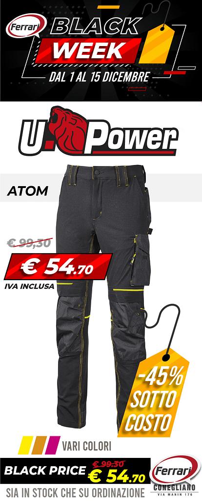 Upower-atom